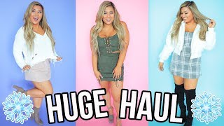 HUGE WINTER/FALL CLOTHING HAUL!! Urban Outfitters, Forever 21 & More!
