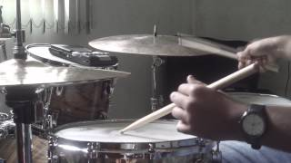 Jader Gomes- Advanced Techniques for the Modern Drummer (Be Bop Fill-Ins) Page 47. Fast Swing!