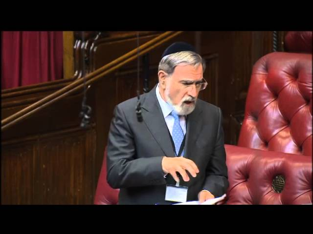 Rabbi Sacks speaks about Article 18 of the UN Universal Declaration of Human Rights