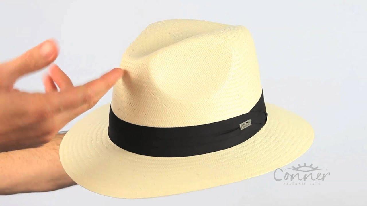 Jensen Panama Straw Sun Hat | Conner Hats