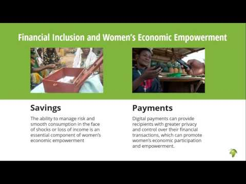 Webinar: Women's Economic Empowerment through Financial Inclusion