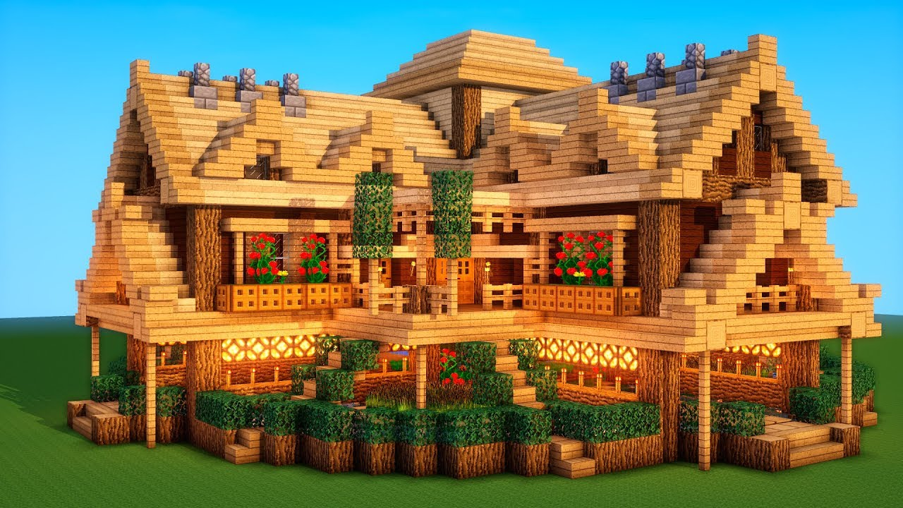 Ultimate Minecraft Survival Base With Everything You Need To Survive 2 Youtube