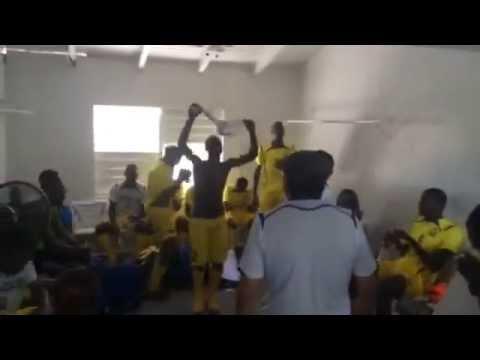 Barbados celebrates victory