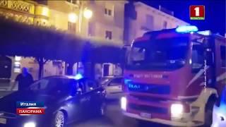 Землетрясение на юге Италии. В некоторых домах потрескались стены
