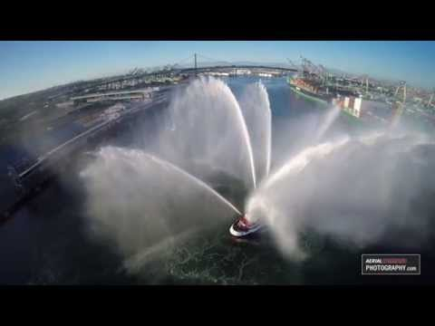 Fireboat #2 - World's most powerful fire boat for marine firefighting