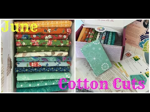 Monthly Subscription Box- Cotton Cuts