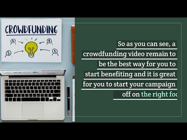 Boosting Your Crowdfunding Success With an Explainer Video