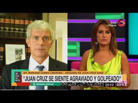 Mariano Cúneo Libarona habló sobre los videos íntimos de Juan Cruz Sanz