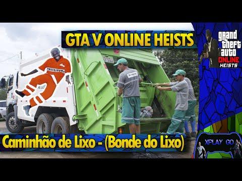 GTA 5 ONLINE - Série A - Caminhão de Lixo - (Bonde do Lixo)