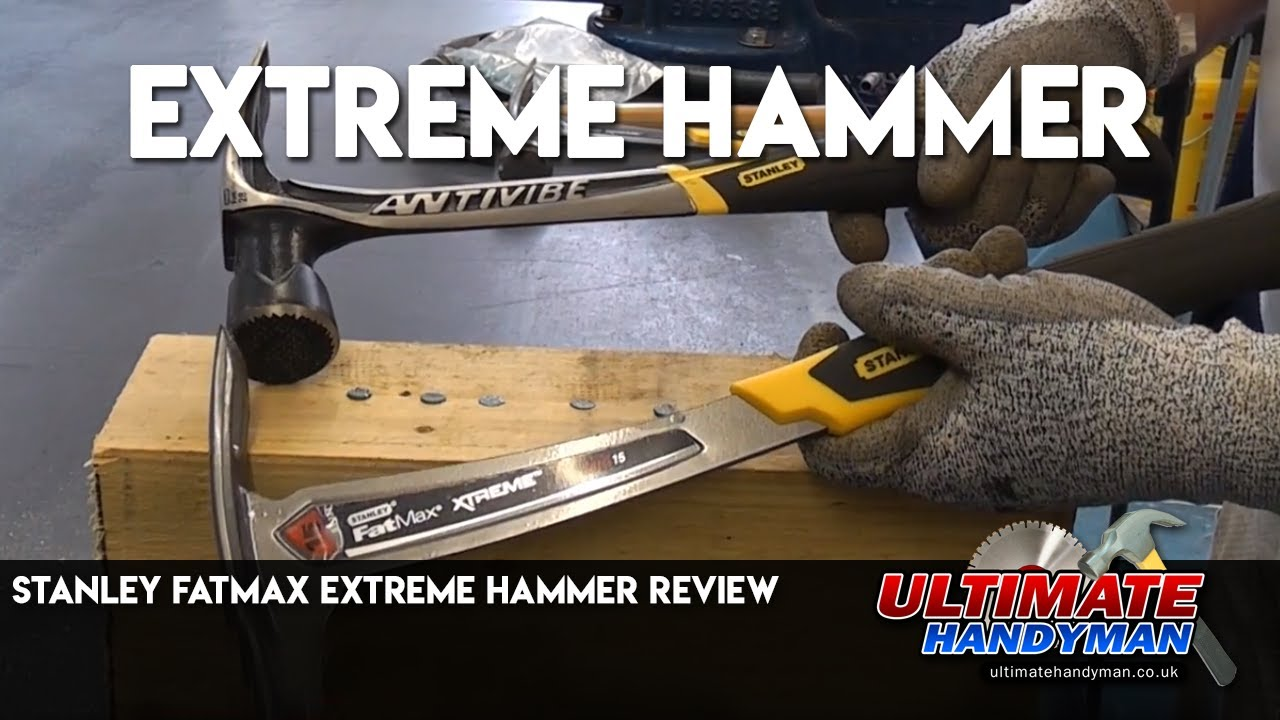 Stanley fatmax extreme hammer review - YouTube