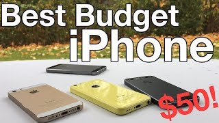 Best budget iPhone you can buy in 2018! ($50!) (iPhone 5 & 5C)
