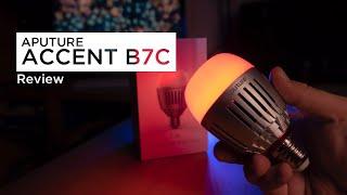 Aputure Accent B7C | Ein Muss für jeden Filmemacher? Review - Deutsch/German