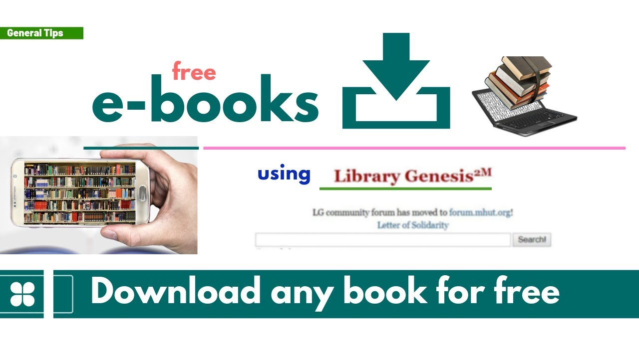 Download Any Book Standard Or Scientific Article For Free Youtube