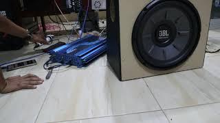 Pemasangan Power 5 ch Vs Subwoofer JBL 1000 Watt