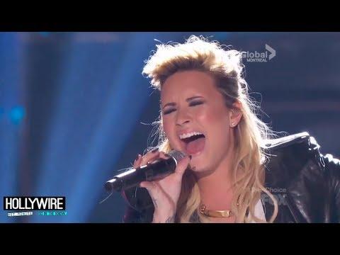 Demi Lovato & Nick Jonas Rock Out! (Teen Choice Awards 2013)