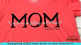 Mothers Day T shirts DIY
