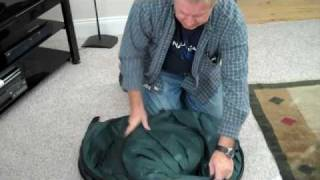 How to fold the OnTheGo Privacy Hut for Emergency Portable Toilets