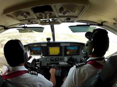 Sansa Regional C208B Landing At Liberia