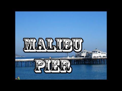 Playa de Malibu en california/Malibu Pier in california