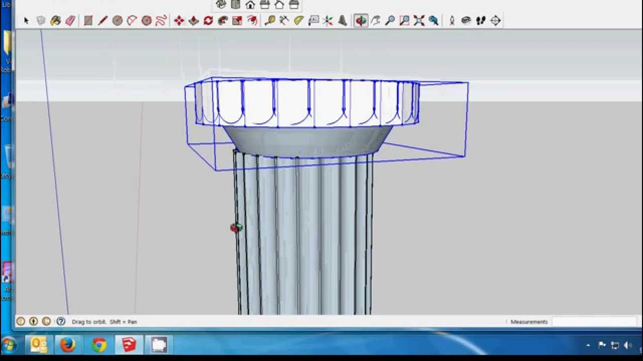SketchUp  How to draw a Doric style capital  YouTube