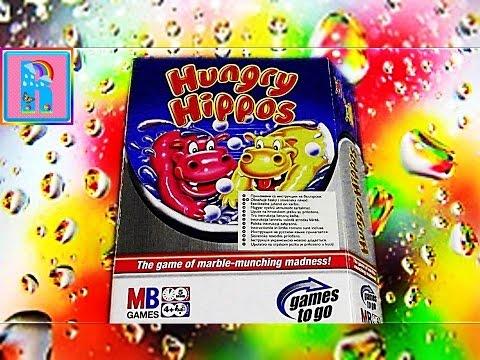 Обзор настольной игры Голодные бегемотики/Review Board Game Hungry Hippo
