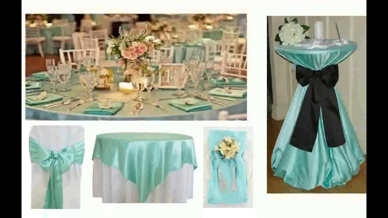 Tiffany Blue Wedding Decorations YouTube