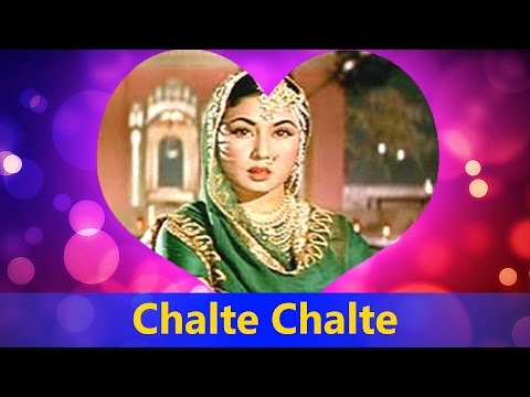 Chalte Chalte Yun Hi Koi (Full Song) By Lata...
