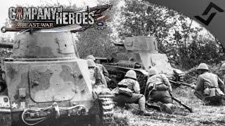 Japanese Banzai Charge Pre WW2 - Company of Heroes: Far East War Mod