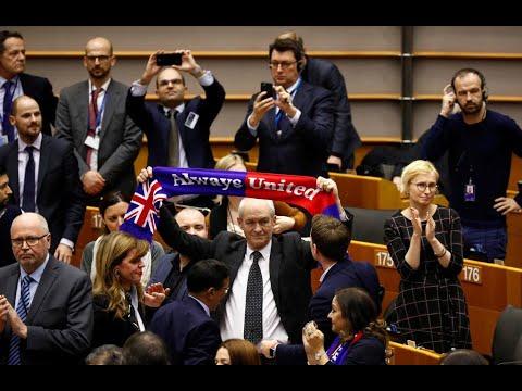 Le Parlement Européen Approuve L'accord De Brexit à Une Large Majorité
