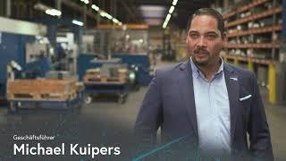 KUIPERS – Zukunftsfest mit Digitalisierung & Automatisierung der Gebäudestruktur und Fertigung