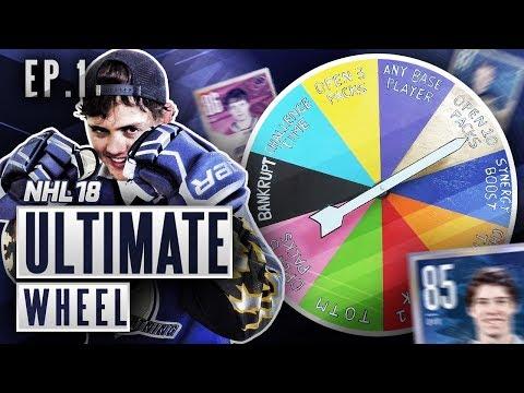 ULTIMATE WHEEL - S2E1 - NHL 18 Hockey Ultimate Team