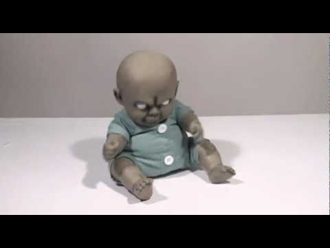 Halloween Zombie Baby Prop.Spirit Halloween In Store Experiences 2011 Youtube