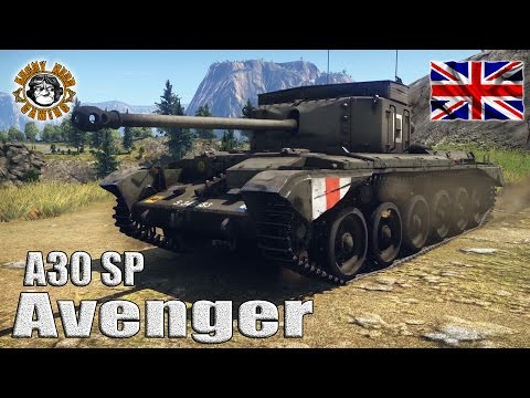 War Thunder: A30 SP Avenger, British Tier-3 Tank Destroyer