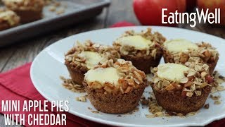 Mini Apple Pies with Cheddar