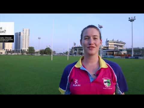 Fiona Scally Interview- Harlequins Abu Dhabi