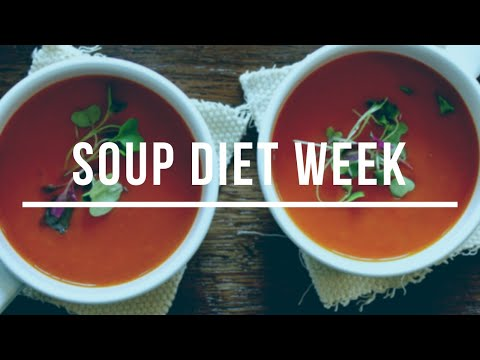 Soup for a week?! The diet results!