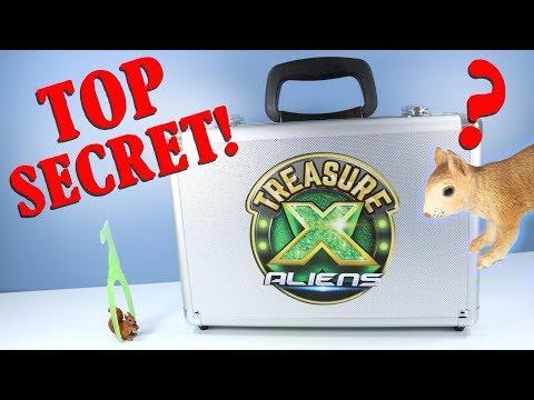 Treasure X Aliens Hunters Unboxing Moose Toys