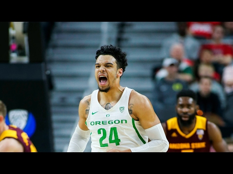 Highlight: Oregon's Dillon Brooks impressive in round 2 of 2017 Pac-12 Men's Basketball tournament