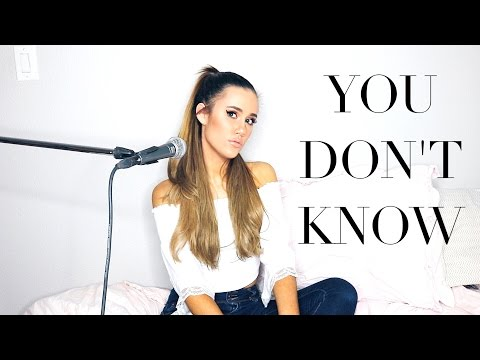 You Don't Know | Katelyn Tarver | Cover by Megan Blanco