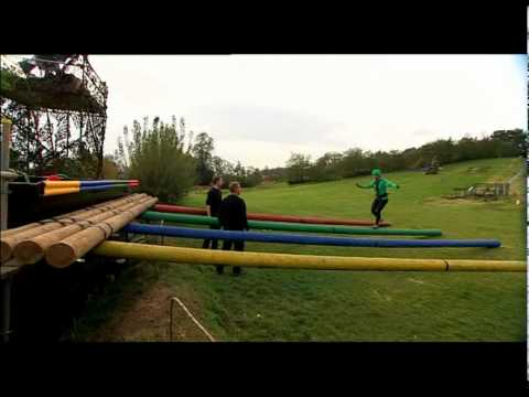 Bronchal Spasm on the Krypton Factor assault course