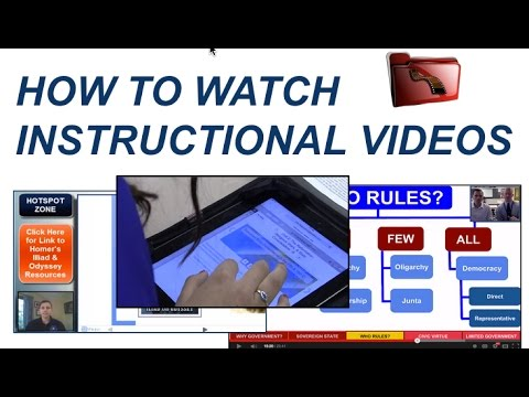 How to Watch Instructional Videos - YouTube