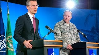 NATO Secretary General with SACEUR, 11 MAR 2015