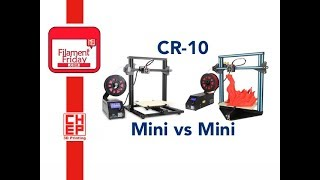 CR-10 Mini vs Mini 3D printer Comparison