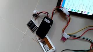 Test gps Gt06/tk100