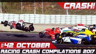 Racing Crash Compilation Week 42 October 2017 | RACINGFAIL
