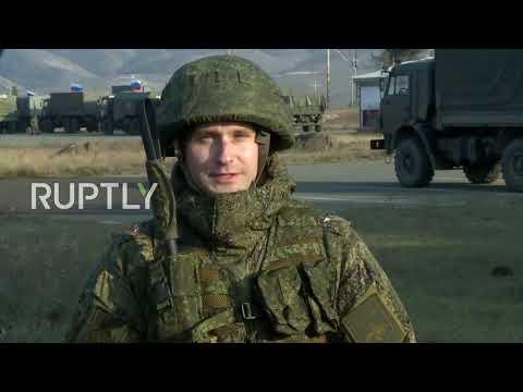 Nagorno-Karabakh: First Russian Military Medical Units Arrive In Stepanakert