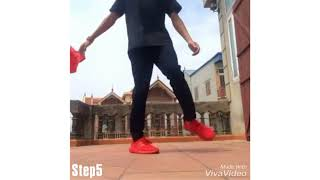 How to Shuffle (Dance Moves Tutorial For Beginners ) Cutting Shapes by Alice