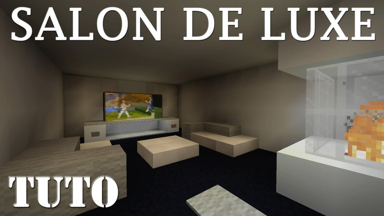 Beau De Salon Faire Un Beau Salon De Luxe Minecraft Ps4