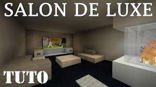 Faire un beau SALON de LUXE - MINECRAFT PS4