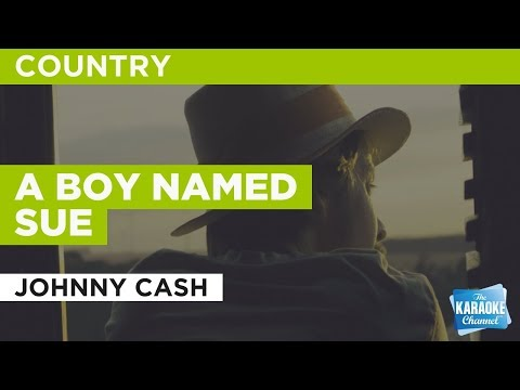 "A Boy Named Sue in the Style of ""Johnny Cash"" with lyrics (no lead vocal)"